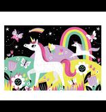 Chronicle 100 Pcs: Glow Puzzle - Unicorn