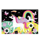 Chronicle Glow Puzzle: Unicorn, 100 Pcs