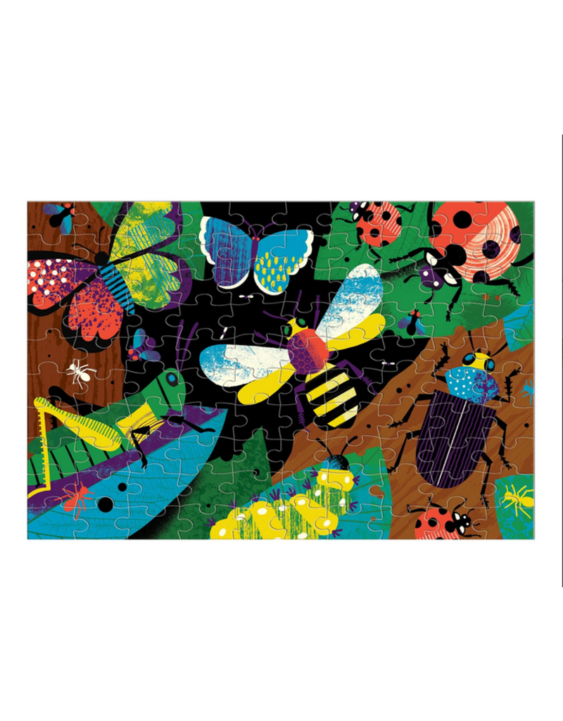 Chronicle Glow Puzzle: Bugs Puzzle, 100 Pc