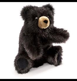 Folkmanis Hand Puppet: Baby Black Bear