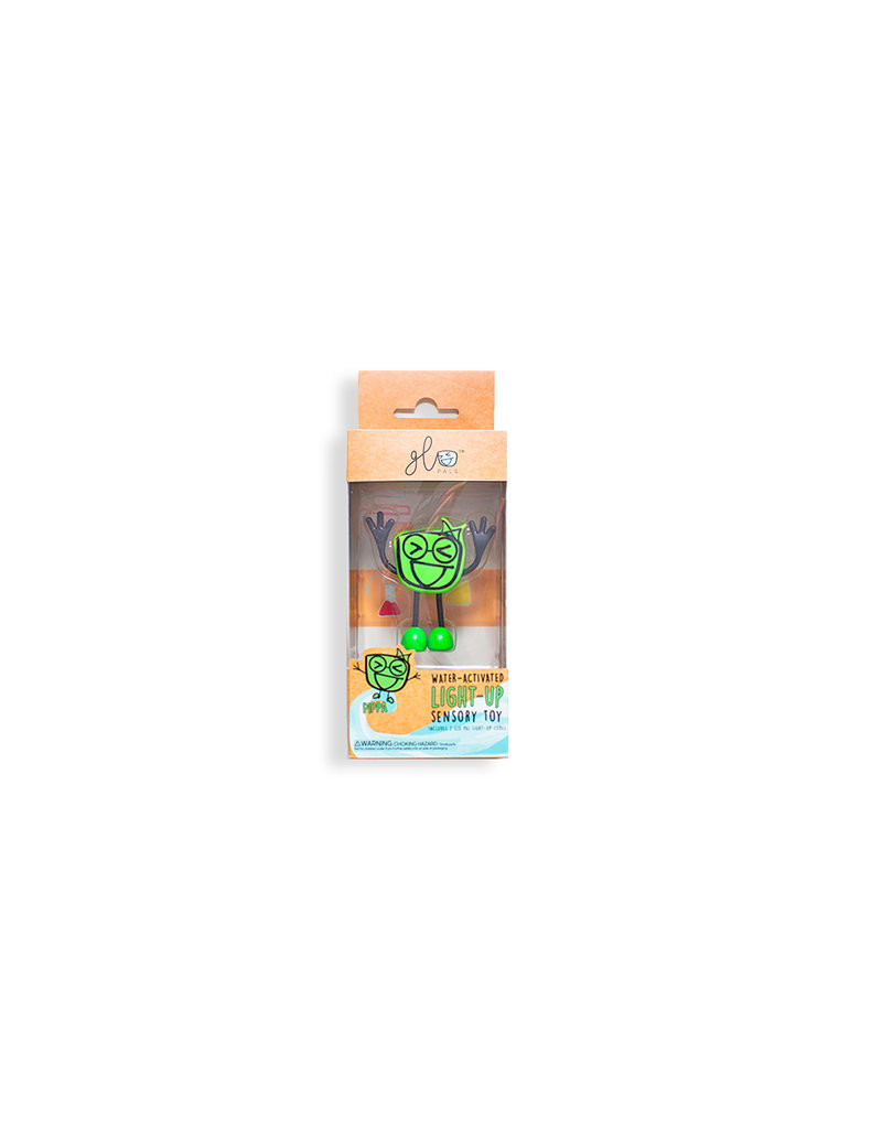 GloPals Light Up Cube & Toy: Green Pippa