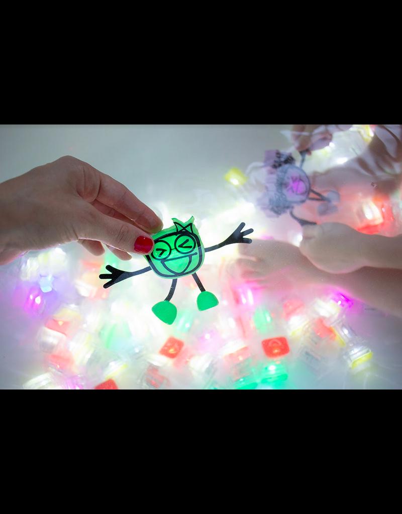 GloPals Light Up Cube & Toy: Purple Lumi