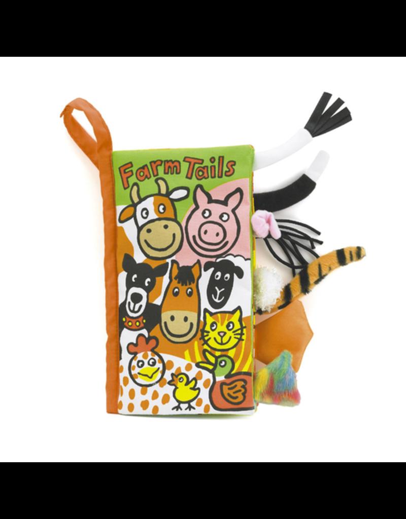 Jellycat Tails Book: Farm
