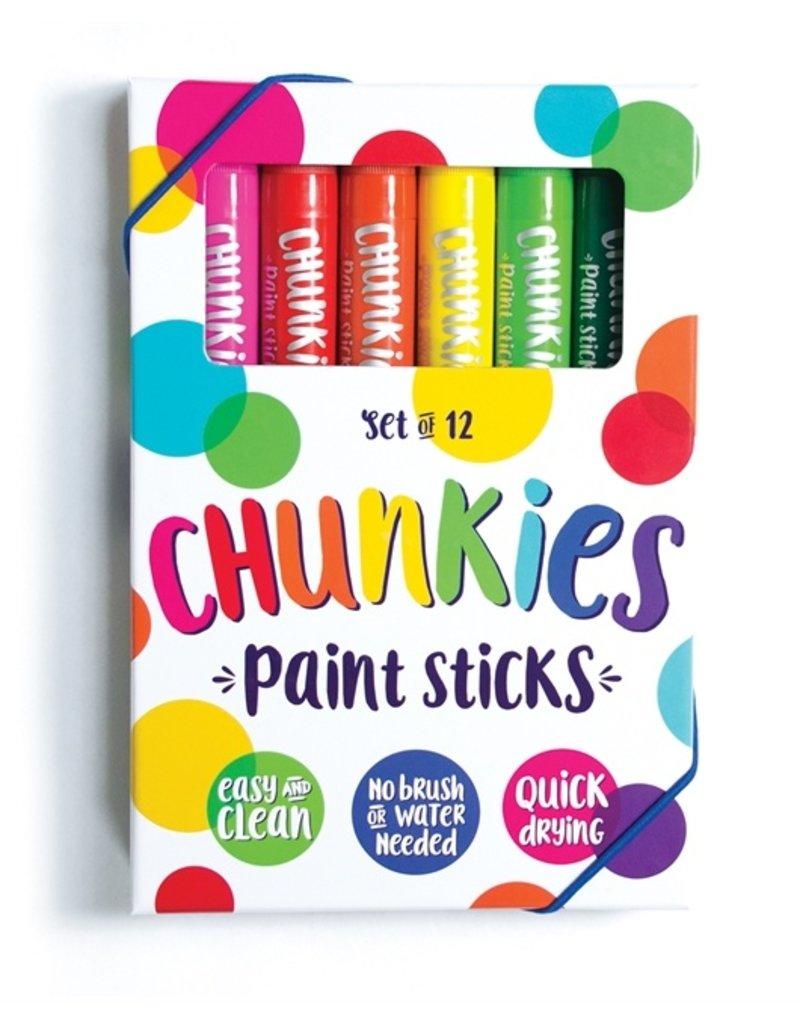 Ooly Chunkies Paint Sticks - 12pc