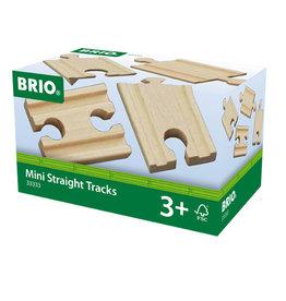 Brio Mini Straight Train Tracks