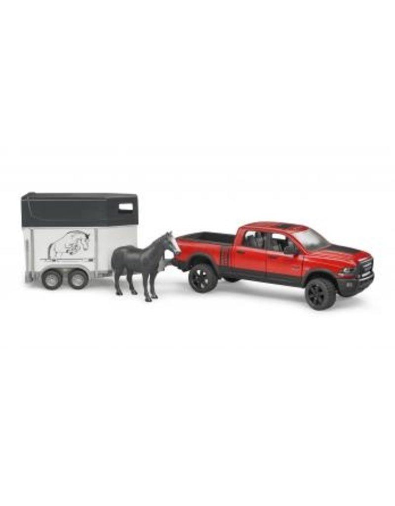 Bruder Ram Truck w/Horse Trailer