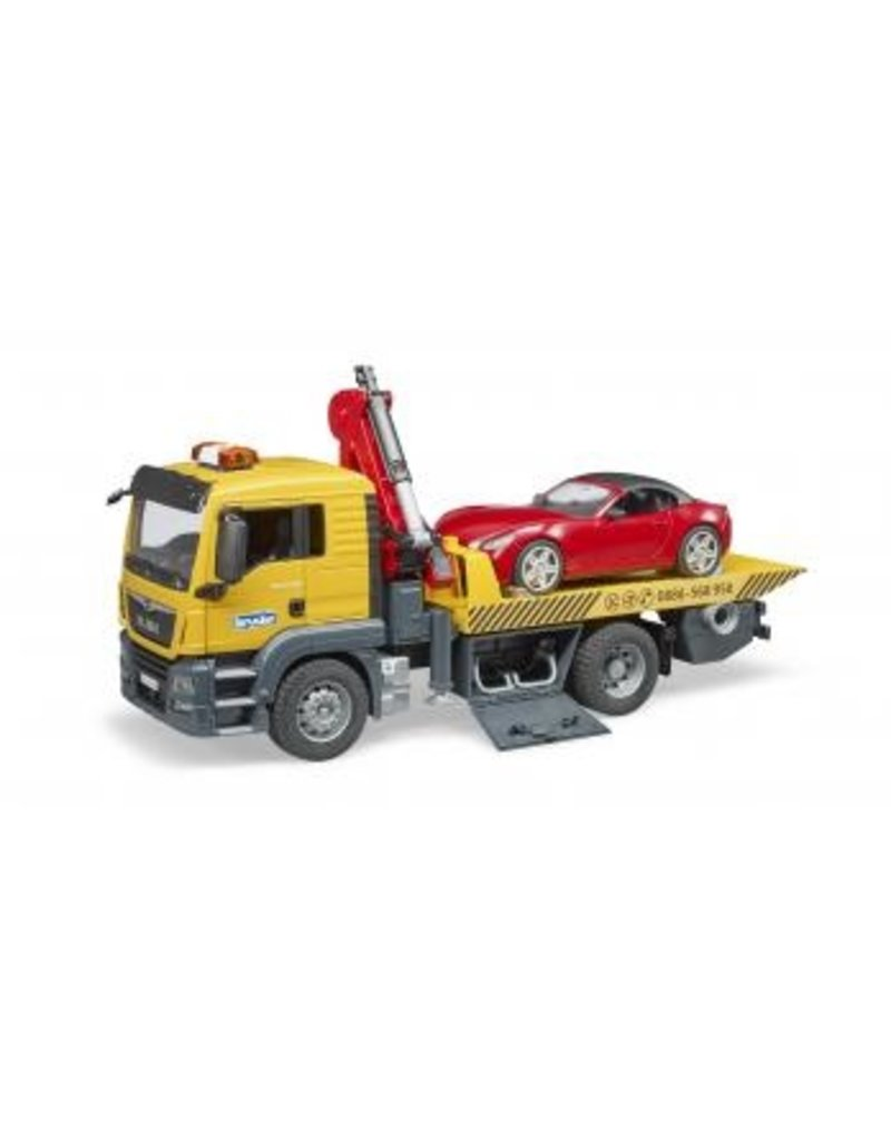 Bruder Tow Truck w/Roadster