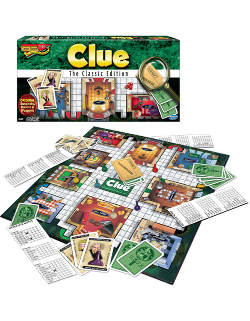 Winning Moves Clue- The Classic Edition