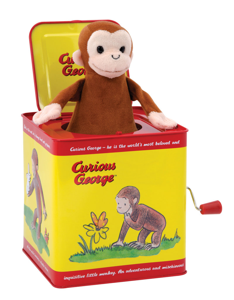 Schylling Curious George Jack in a Box