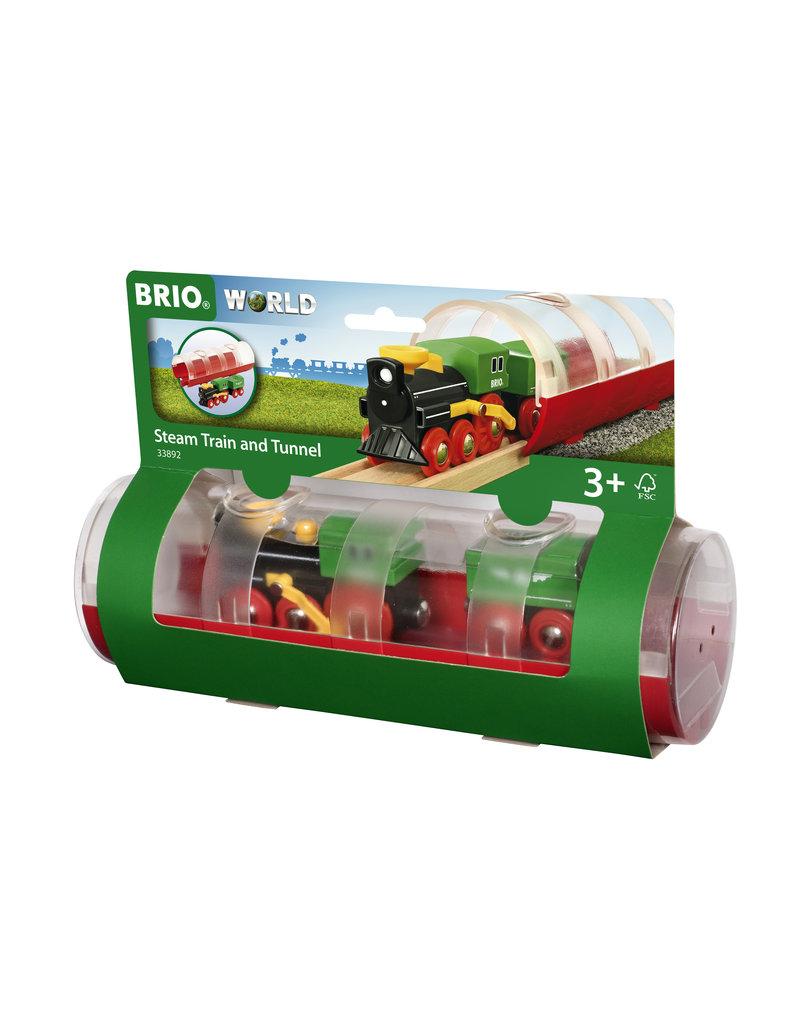 Brio Steam Train & Tunnel