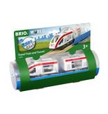 Brio Travel Train & Tunnel