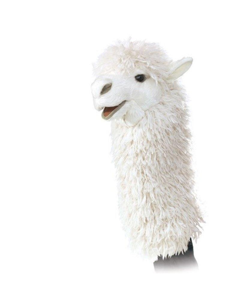 Folkmanis Hand Puppet: Alpaca