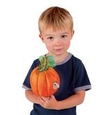 Folkmanis Finger Puppet: Mouse in Pumpkin