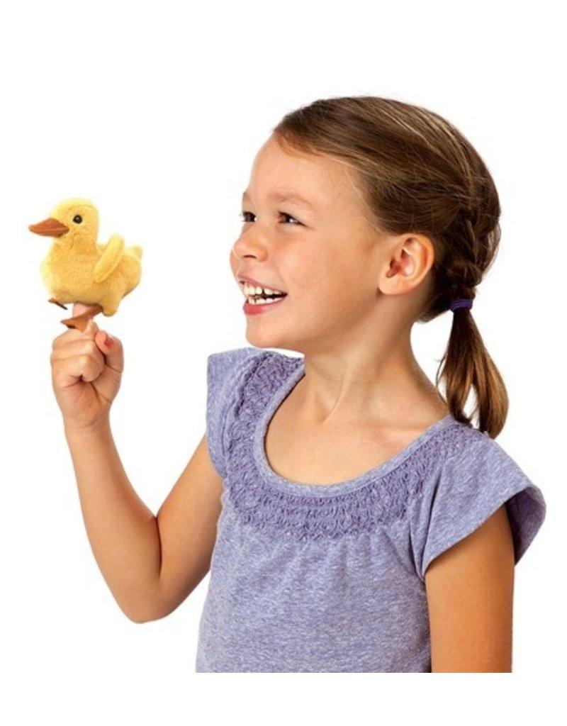 Folkmanis Finger Puppet: Mini Duckling