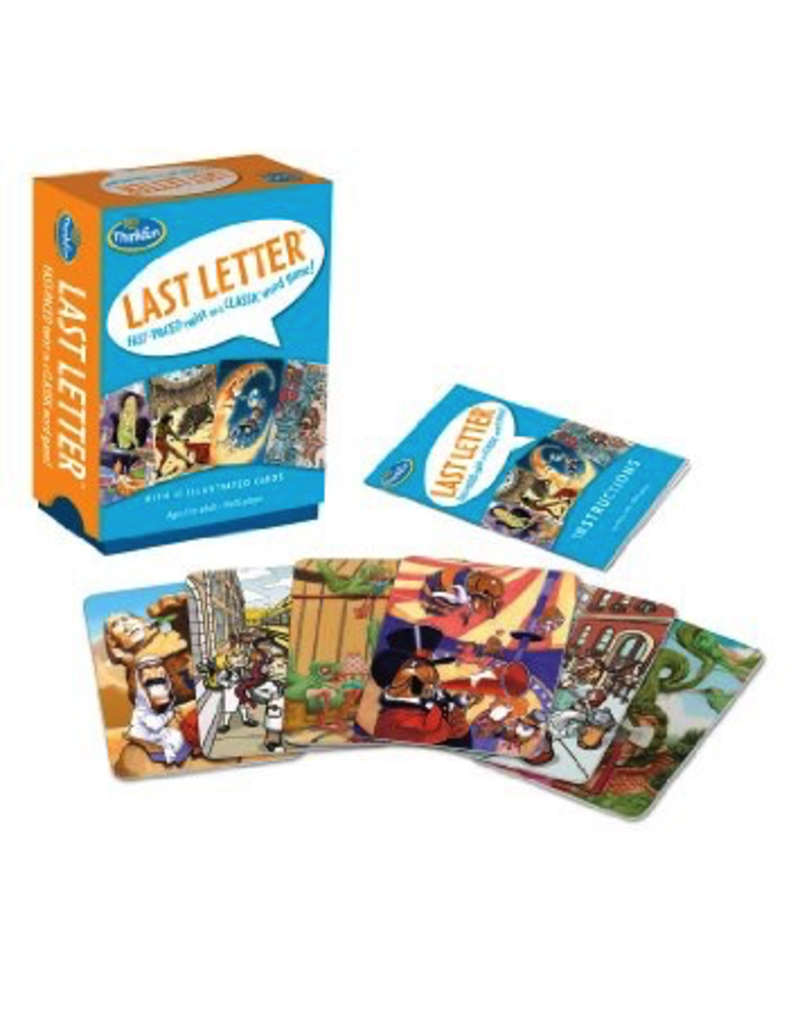 Think Fun Last Letter Card Game