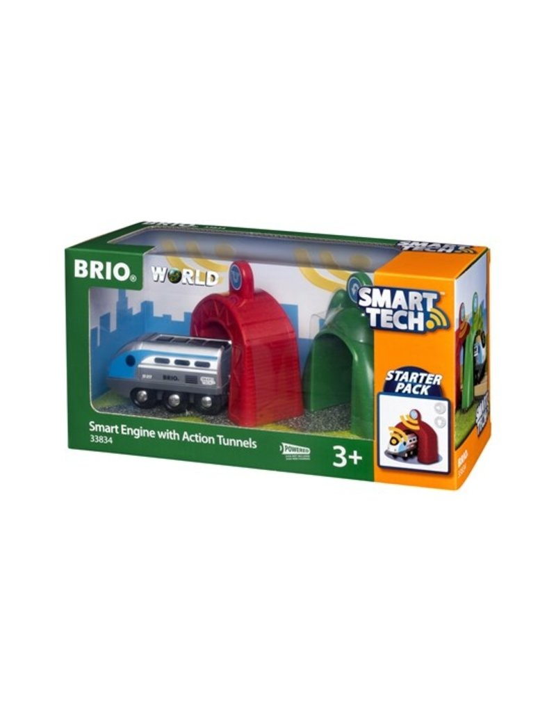 Brio Smart Engine with Action Train Tunnel
