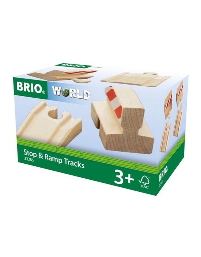 Brio Ramp & Stop Train Track