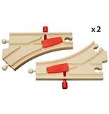 Brio Train Track Mechanical Switches