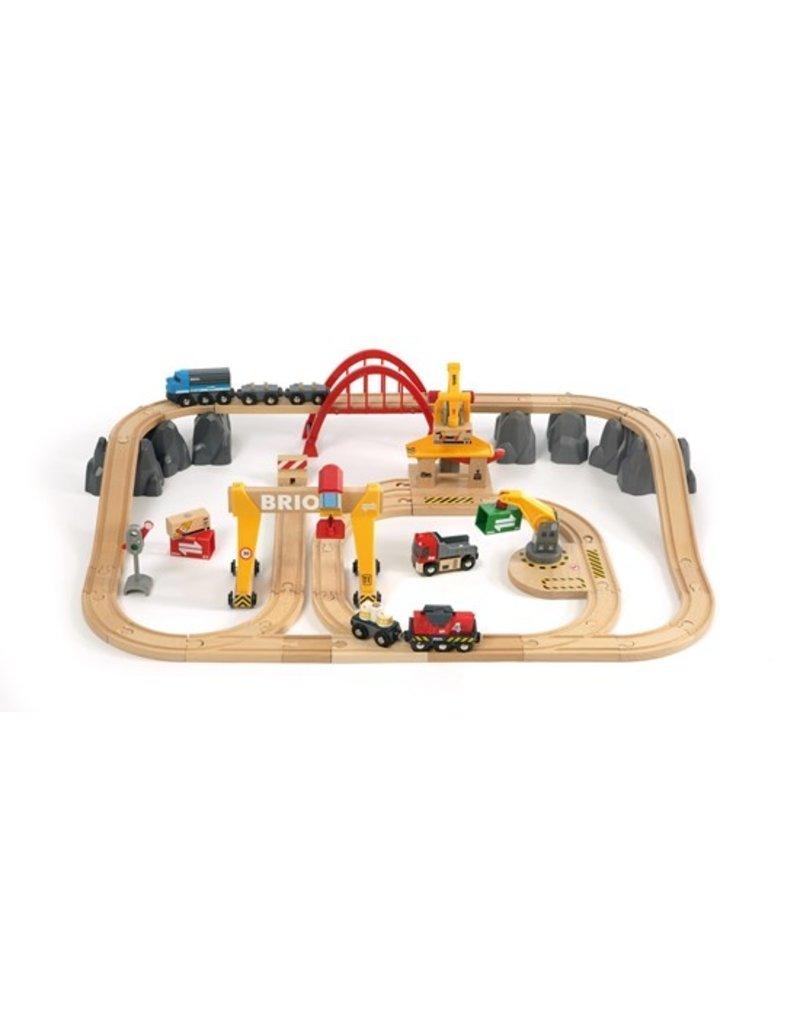 Brio Cargo/Country Train Rail Set-54 pc