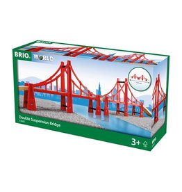 Brio Double Suspension Train Lifting Bridge