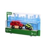 Brio Tow TruckTrain w/Vehicle