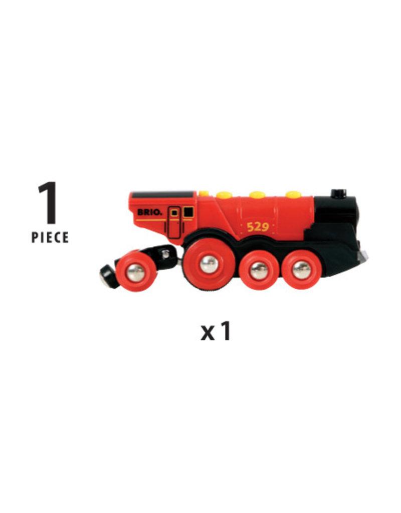 Brio Mighty Red Train Locomotive