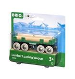 Brio Train Lumber Wagon