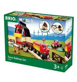 Brio Farm Train Railway Set