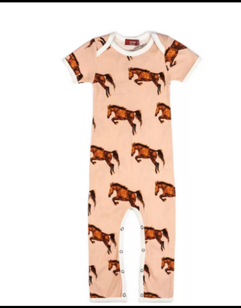 Milkbarn Romper: Horse