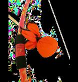 Two Bros Bows Bow Set: Orange Tie Dye