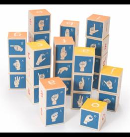 Uncle Goose Sign Language ABC Blocks