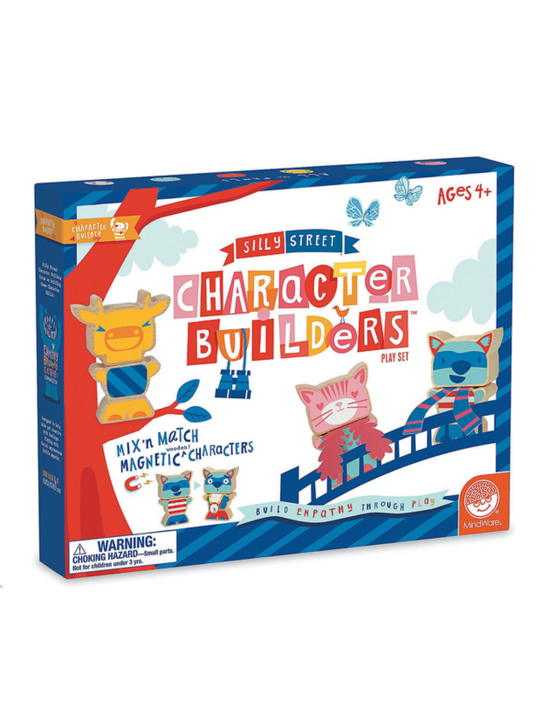 Mindware SILLY STREET CHARACTER BUILDERS PLAYSET
