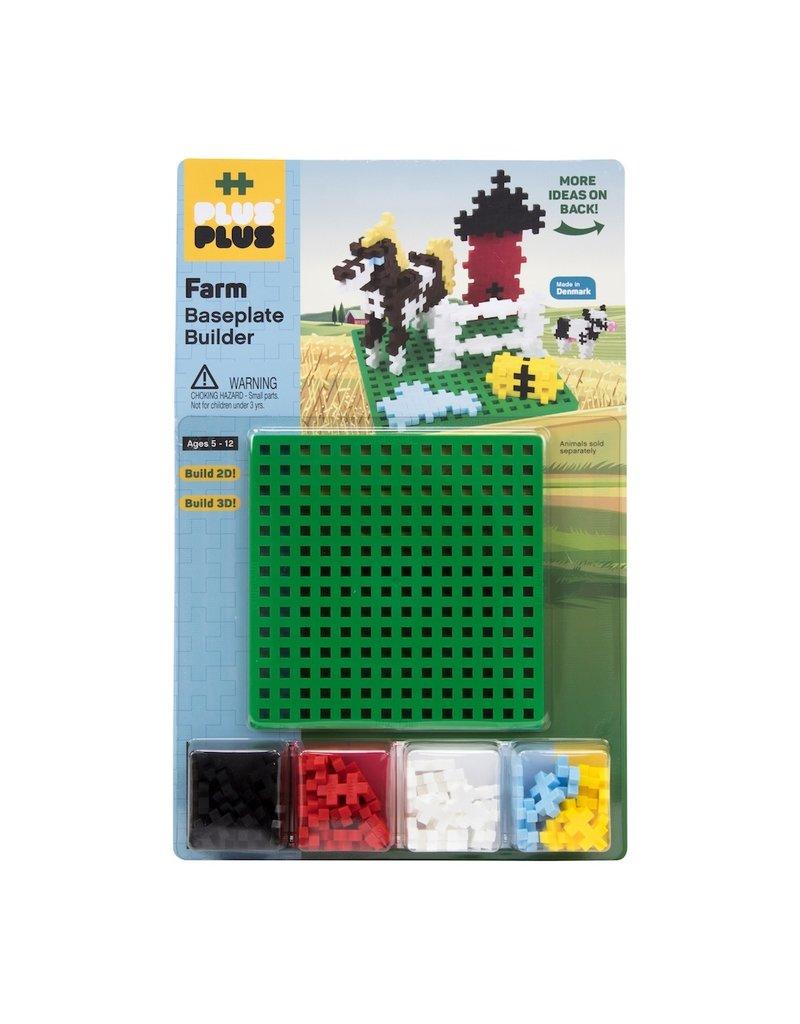 Plus Plus Plus Plus: Baseplate Builder Farm