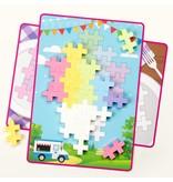 Plus Plus Plus Plus BIG Picture Puzzles: Pastel
