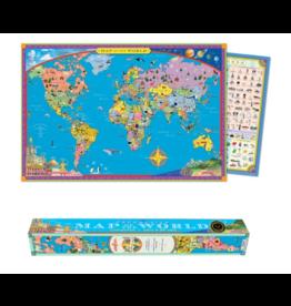 Eeboo Map of The World