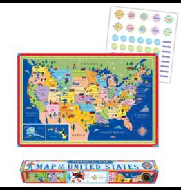 Eeboo Map of The US