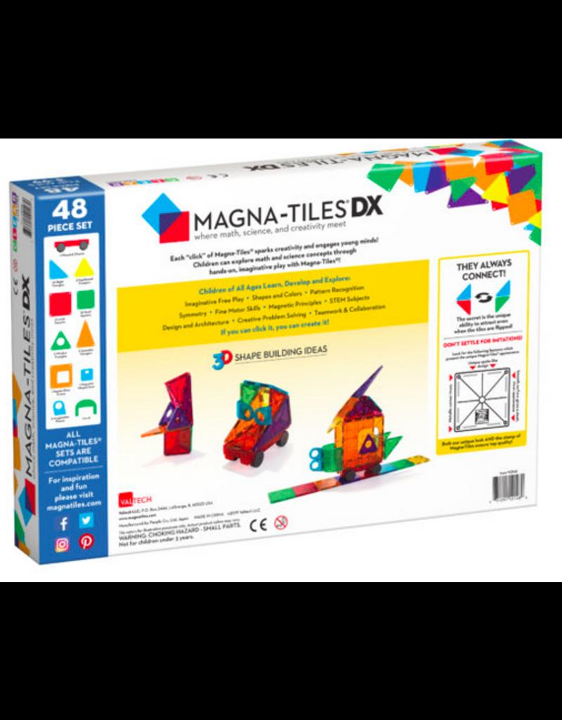 Magnatiles Magnatiles: Clear Colors - 48 pcs