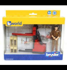 Bruder Figure set logistics UPS
