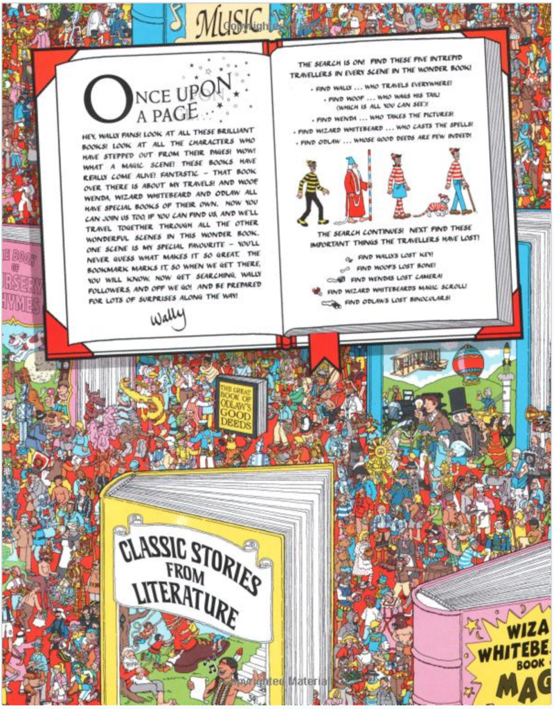 Penguin/Random House Where's Waldo: The Wonder Book