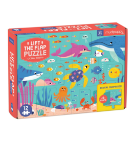 Hachette Lift The Flap Puzzle: Ocean Party