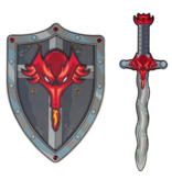 Great Pretenders Sword: Dragon