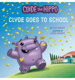 Penguin/Random House Clyde The Hippo: Clyde Goes To School