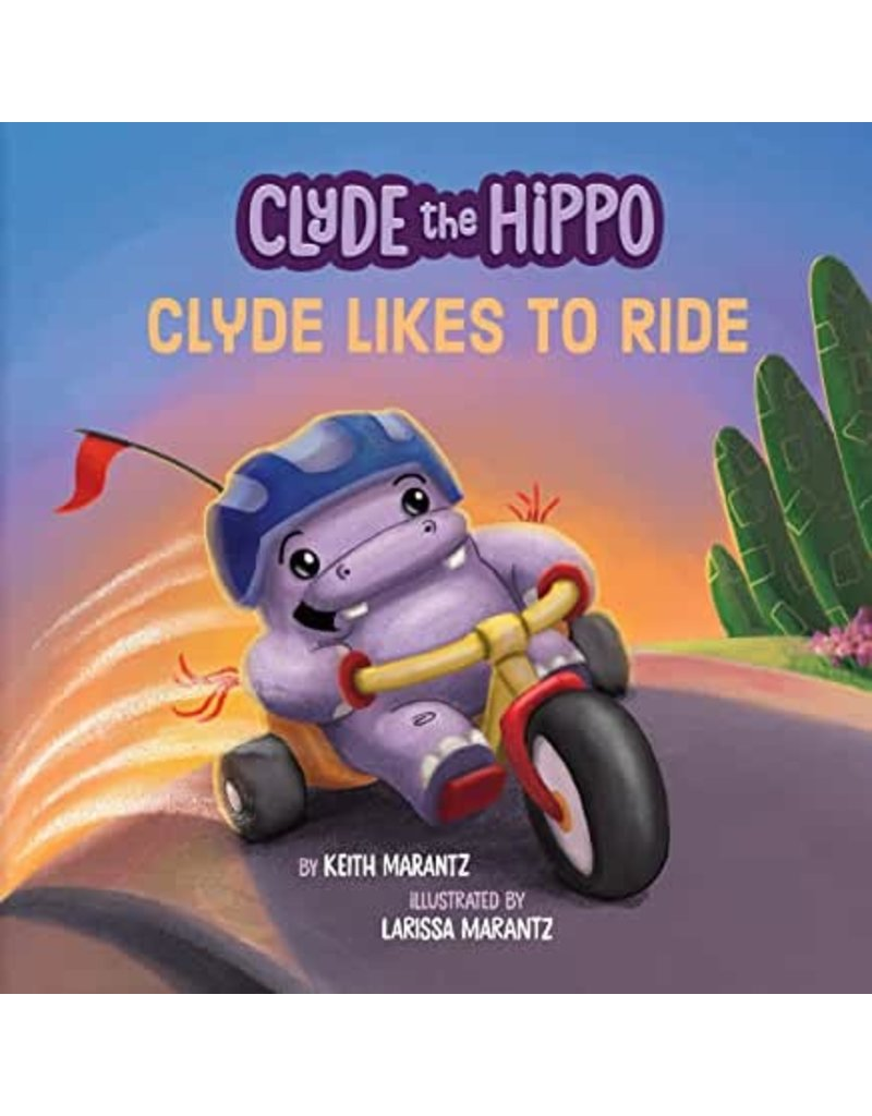 Penguin/Random House Clyde The Hippo: Clyde Likes to Ride