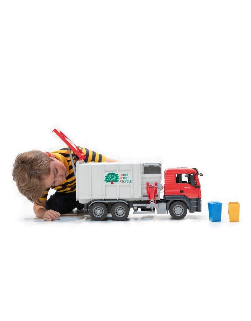 Bruder MAN TGS Side Loading Garbage Truck