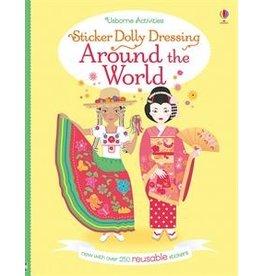 Usborne Sticker Dolly Dressing Around the World