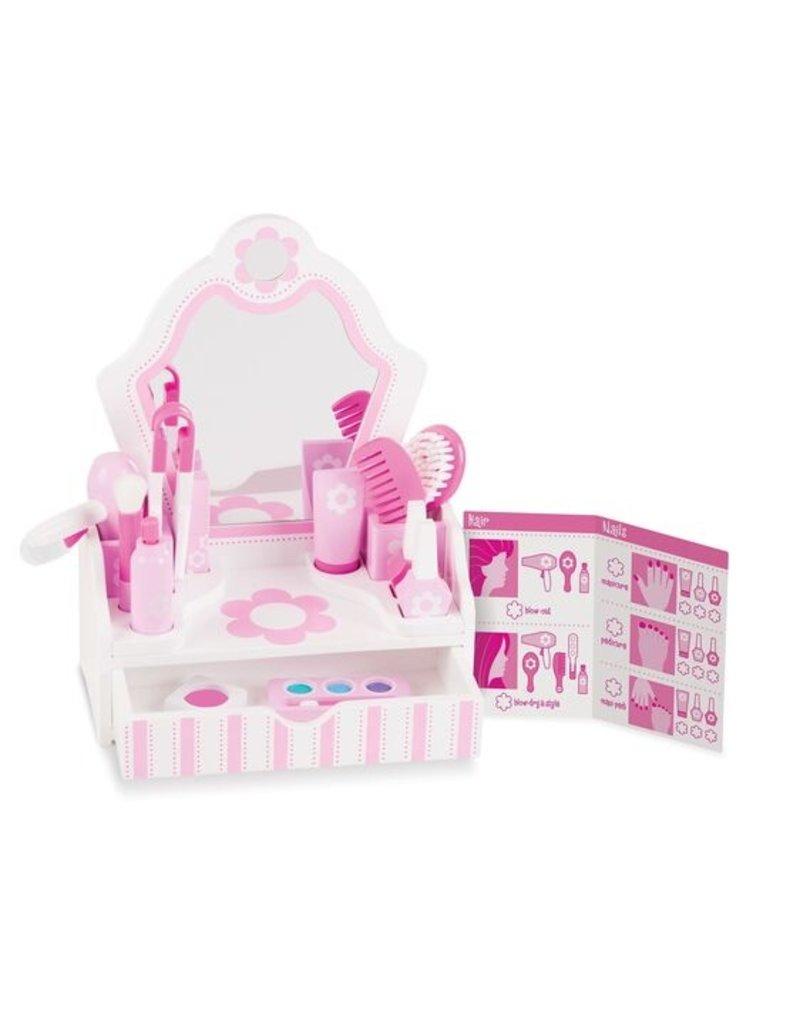 Melissa & Doug Vanity Beauty Salon  Set
