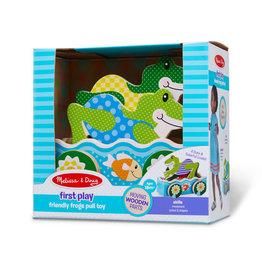 Melissa & Doug Friendly Frog Pull Toy