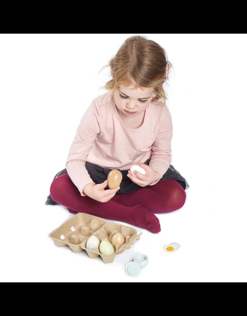 Tender Leaf Wooden Eggs