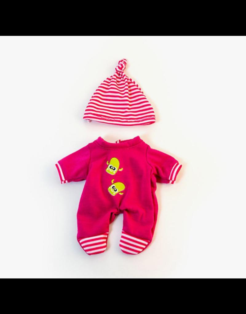 Miniland Newborn Doll Clothes:  Pink Pajama