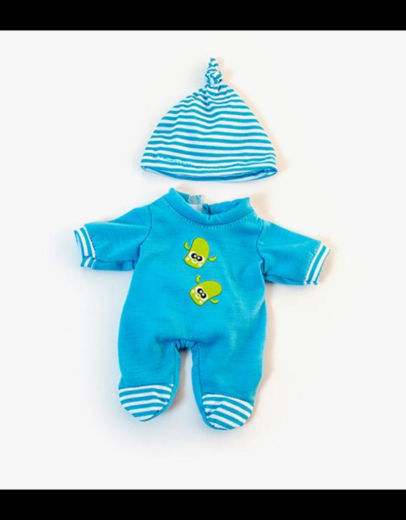 Miniland Newborn Doll Clothes:  Blue Pajama